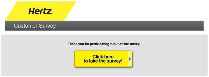 Hertz Survey form