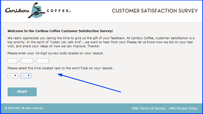 Caribou Coffee Survey.form
