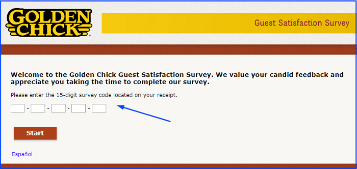 Golden Chick Survey.form