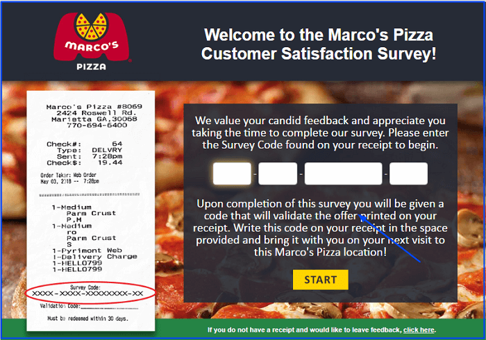 Marcos Survey form