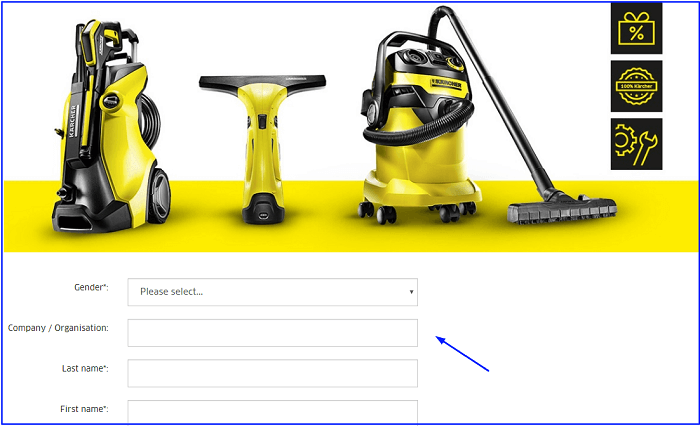 Karcher Survey form