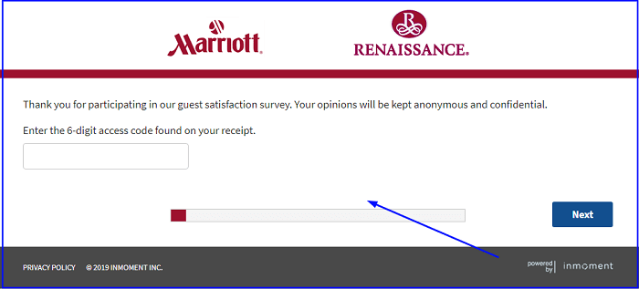 Marriott Survey form