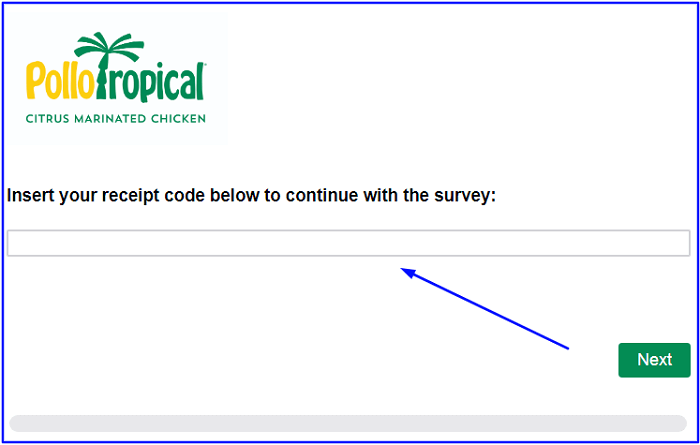 Pollo Survey form